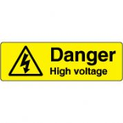 Warn163 - Danger High Voltage